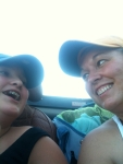 Riding with Amber