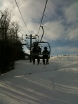 On the Lift! #CrotchedMnt #tweetsfromthelift