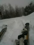 Skiing out Todat!! Yes!! #Crotched_Mtn