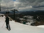 Playing in the Snow! #Crotched_Mtn #ski