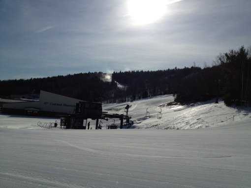 Another Perfect Day at Crotched Mountain